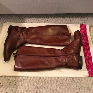 Tory Burch Shoes - Tory Burch Brown Riding boots 8.5